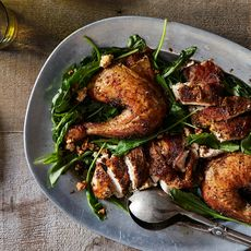 Melissa Clark's Feta-Brined Roast Chicken