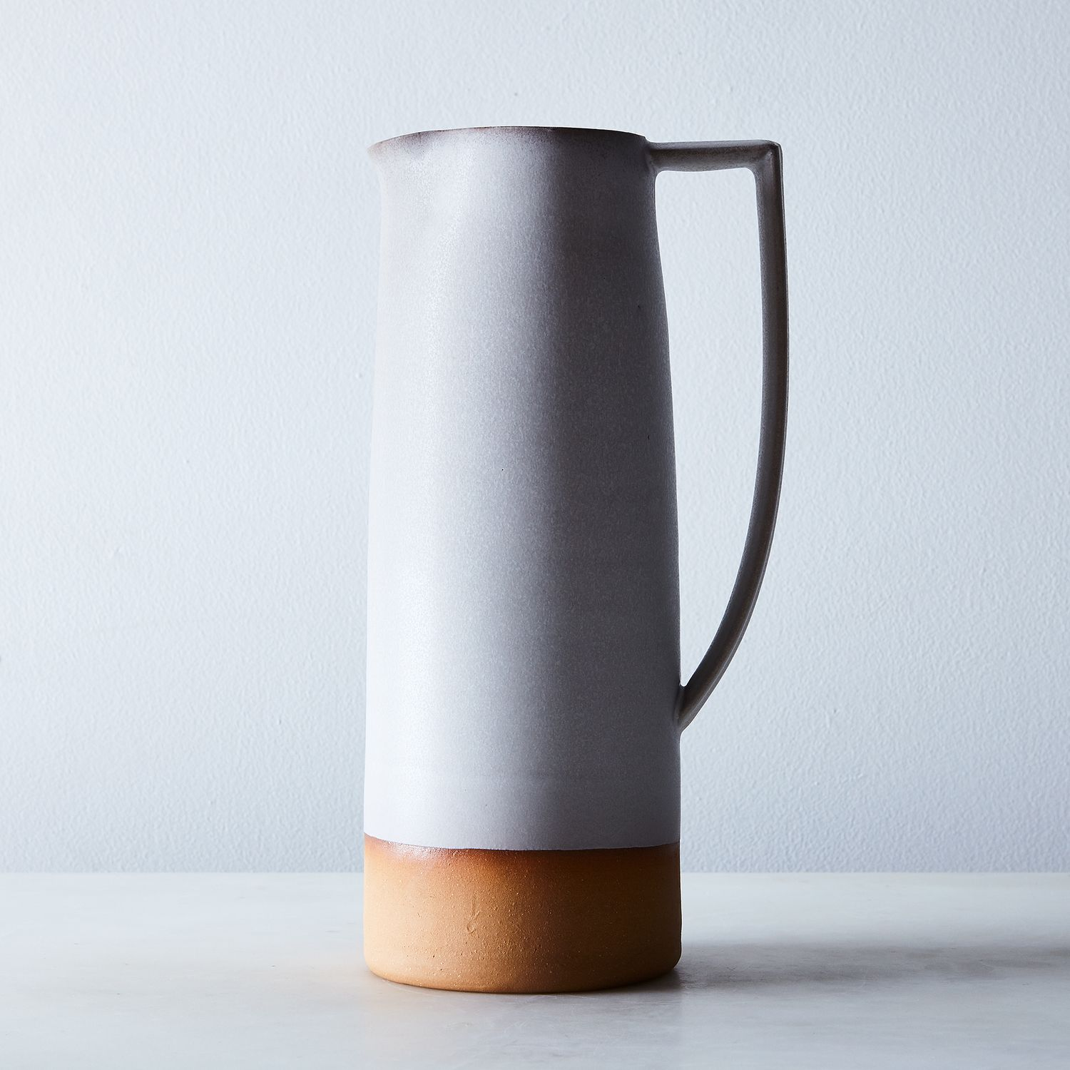 Handthrown Dipped Ceramic Pitcher On Food52