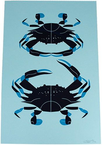 Blue Crab by Eleanor Grosch