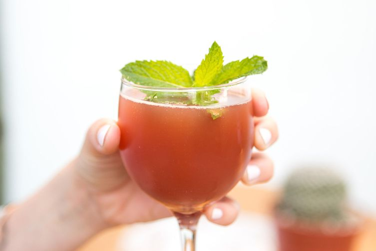 Pomegranate Sparkler Recipe on Food52