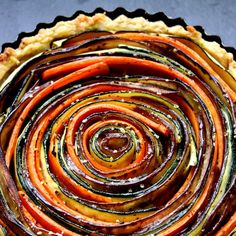 Tuscan Vegetable Tart