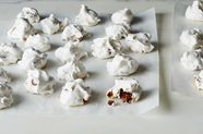 Bacon Pecan Meringues With (or Without) Milk Chocolate