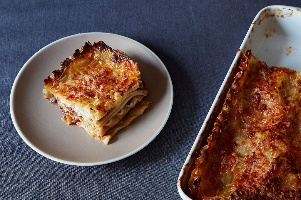 Lasagna without a Recipe