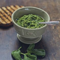 Basil and Pine Nut Sauce  (Trofie al pesto)- Liguria