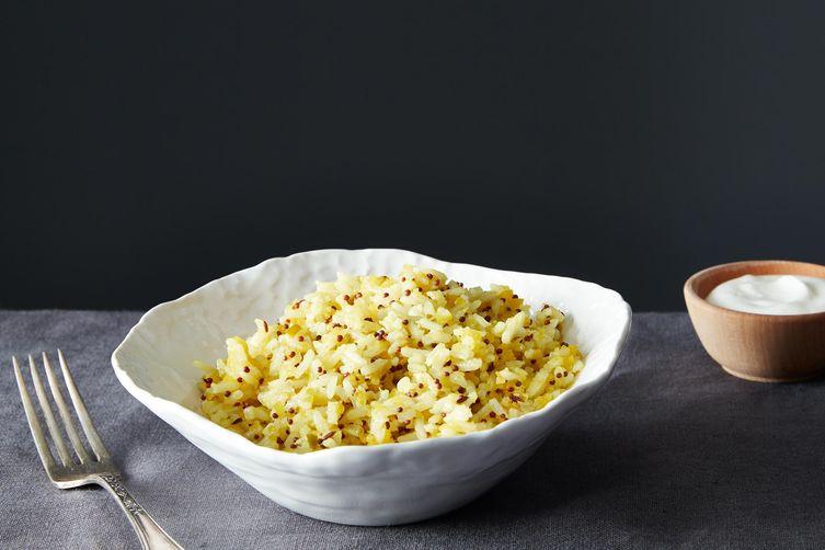 Mango Rice with Mustard