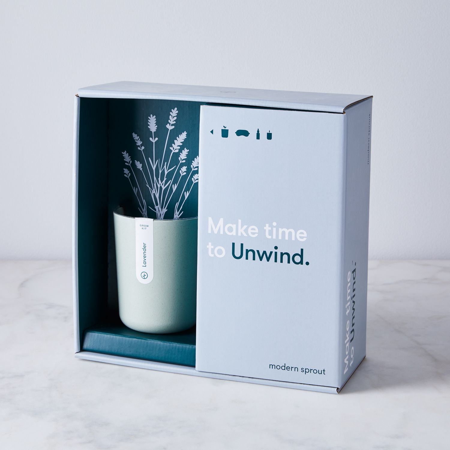 Modern Sprout Live Well Gift Set with Indoor Grow Kit