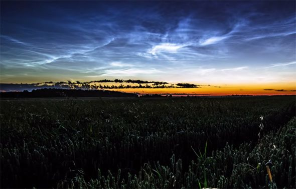 Noctilucent Clouds Slate