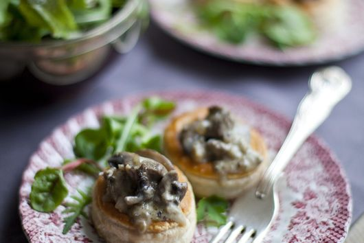 BEEF AND MUSHROOM VOL-AU-VENTS (from Bord Bia, The Irish Food Board)
