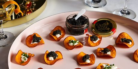 Come hither, pretty caviar.