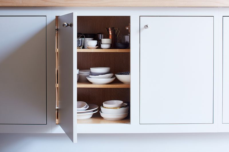 Food52 Test Kitchen Waterworks Cabinets