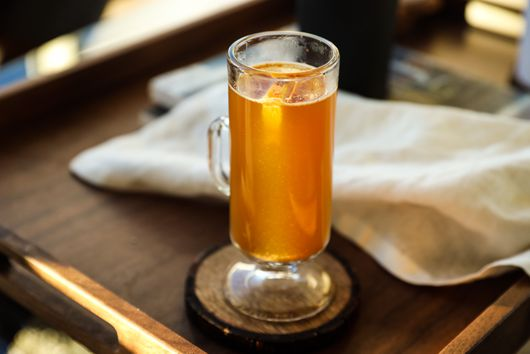 A Cozy, Warming Bourbon Cider—With a Chocolatey Twist