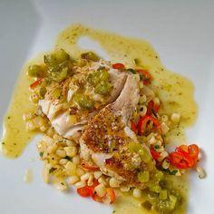 Caribbean Jerk Seasoned Pan Fried Flounder