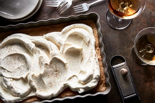 This Simple, Luscious Cake Will Convert Anyone into an Eggnog Lover