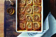 Honey Cashew Morning Buns