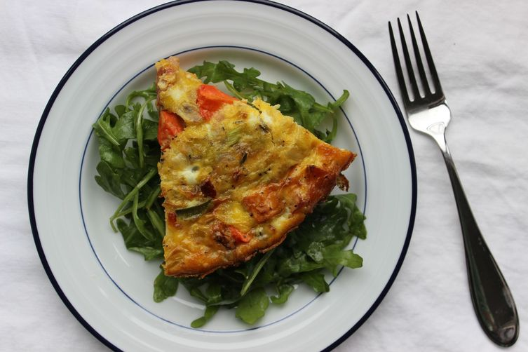 Roasted Root Vegetable Frittata
