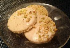 Chai Spice Pistachio Shortbread Cookies