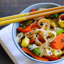 Sweet & Sour Vegetarian Stir-Fry