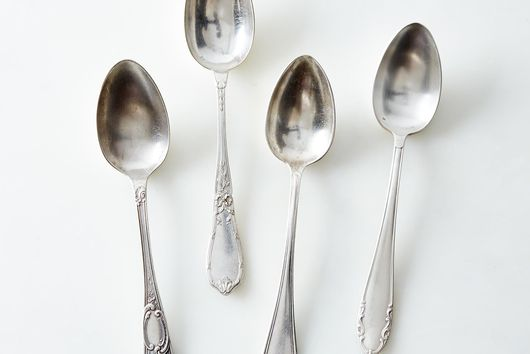Vintage Silver-Plated French Flatware (Set of 4)