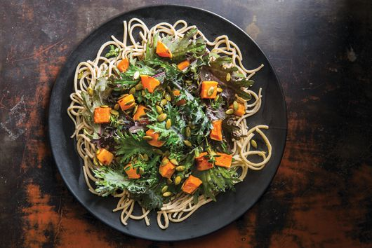 Soba Salad With Kabocha Squash & Toasted Pepitas From Sonoko Sakai