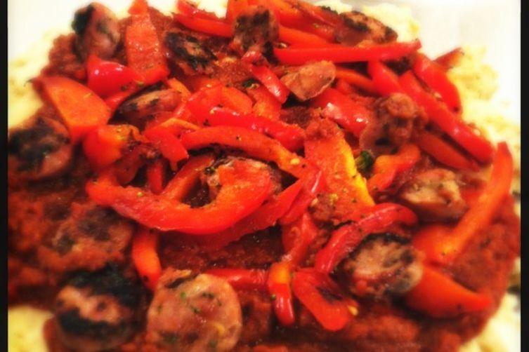 Gluten Free, Dairy Free Pizza with Wine, Basil & Tomato Sauce