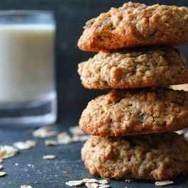 Sea Salt, Golden Raisin and Oatmeal Cookies