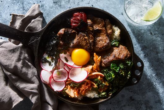 For the Best (& Easiest) Bibimbap, Cook It in a Skillet