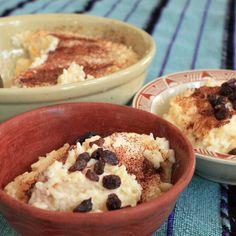 arroz con leche nuevo mexicano