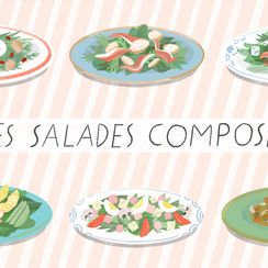 A Tour of France in 10 Composed Salads