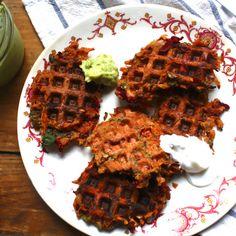 Vegan Bean Wonder Waffles
