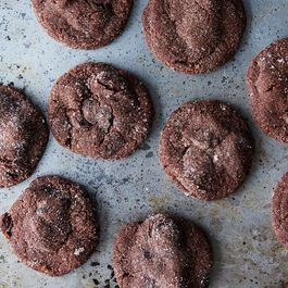 Chocolate Almond Cherry Cookies