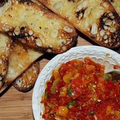 Roasted Double or Triple Tomatoes for Bruschetta