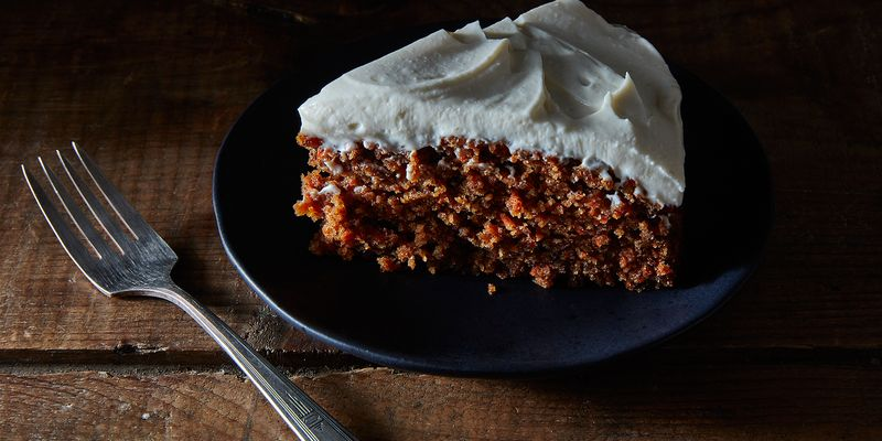 It's all you need to make this just-right carrot cake