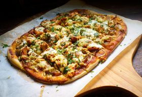 Barbecue Chicken Pizza (+ How to Prep for a Week's Worth of Meals)