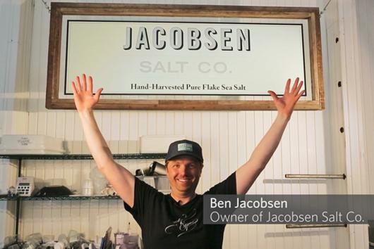 Ben Jacobsen of Jacobsen Salt Co.