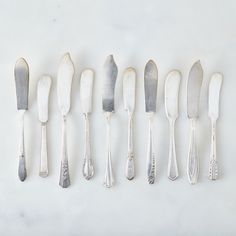Vintage Silver-Plated Spreader