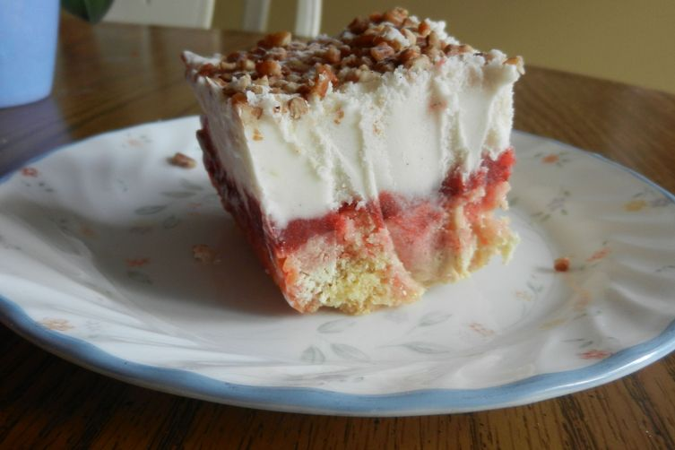 Strawberry Shortcake Sherbet Bars