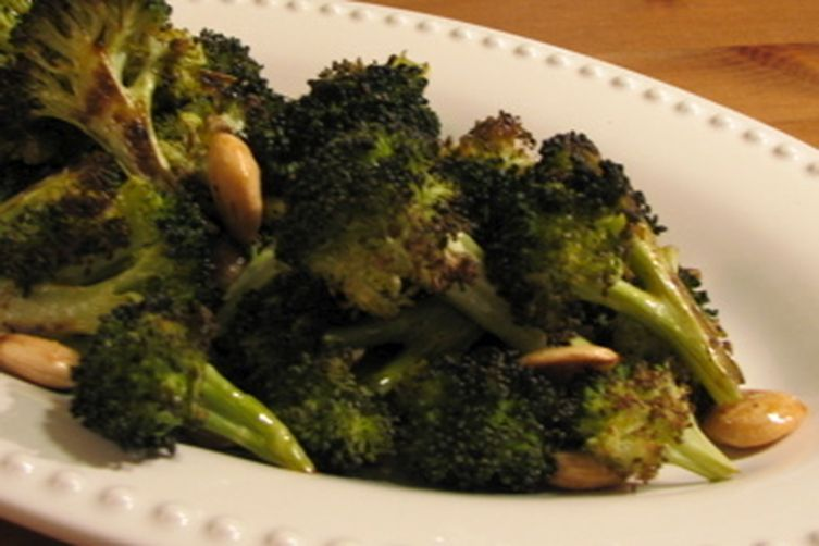 Roasted Broccoli with Smoked Paprika Vinaigrette and Marcona Almonds ...