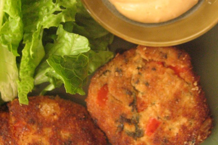 Cilantro Lime Salmon Cakes with Chipotle Mayo Recipe on Food52