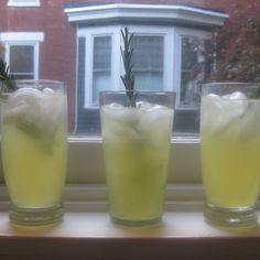 Lemon Rosemary Fizz