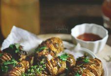 Garlic lime honey roasted potatoes