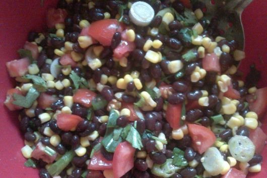 Easy Black-Bean Corn Salad