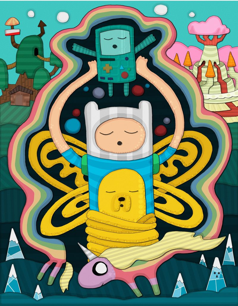 'Eating Ooo: Recipes and Art Inspired by Pendleton Ward's Adventure Time'.