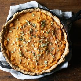 Thanksgiving Root Vegetable Pie