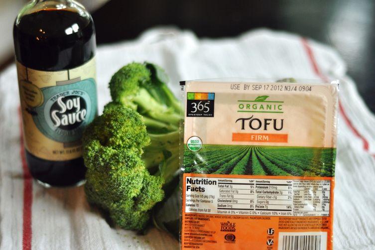 Tofu in Peanut Sauce