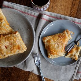 Tomato and Cream Cheese Turnovers