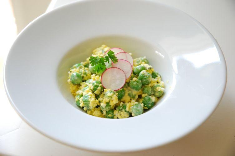 Spring Picnic Pea Salad