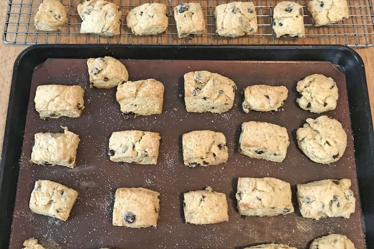 Irish Soda Cream Scones