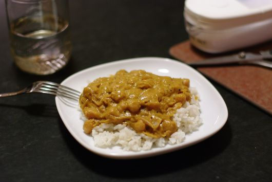 Chickpea Cashew Curry