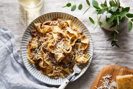 Chicken Liver Pasta Sauce Inspired by Marcella Hazan