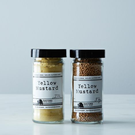 Yellow Mustard Powder and Seed Duo